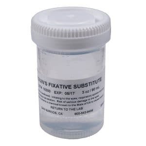 Tek-Select® Bouins Fixative Substitute, Prefilled Containers 3 Oz (90ml)