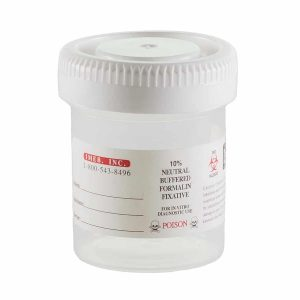 Tek-Select® Prefilled 10% Formalin - 90ml/45mL Prefilled Containers
