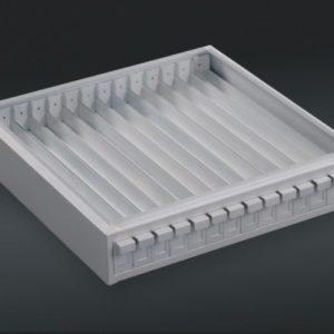 Tek-Select® Paraffin Block Metal Storage Cabinet 14 Drawers