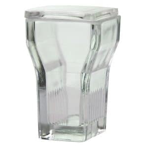Glass Staining Jar With Glass Lid Hellendhal Type